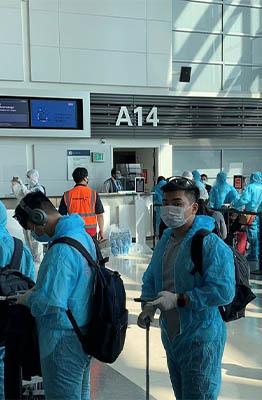 277 stranded Vietnamese repatriated from US